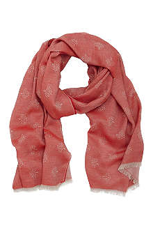 MULBERRY Tamara superfine cotton scarf