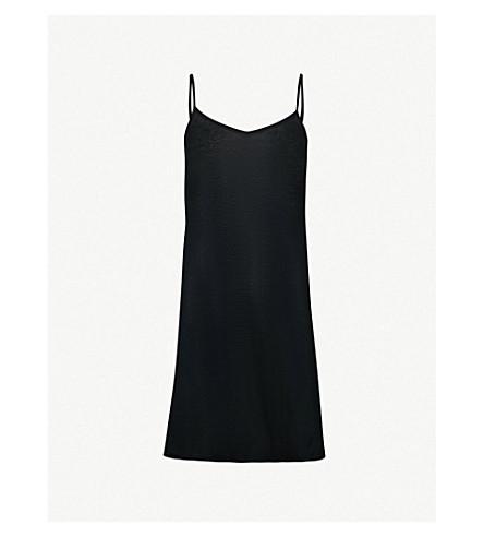 HANRO Ultra-light body dress (Black