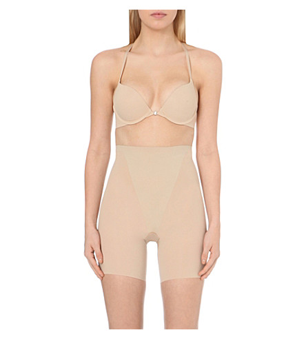SPANX Mid-thigh shorts (Nude