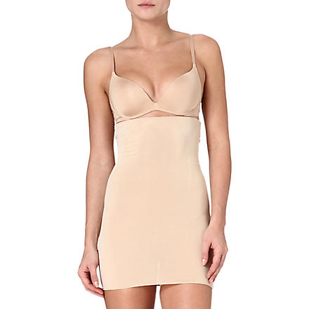 SPANX Focused Firmers high-waisted half slip (Nude