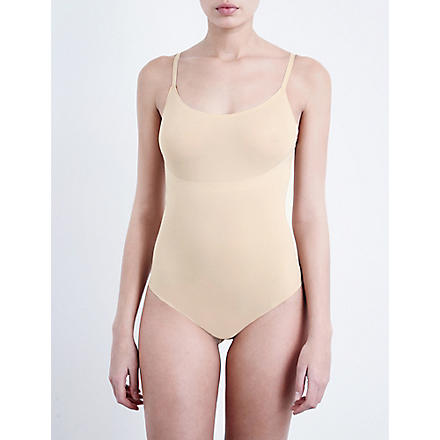 SPANX Trust Your Thinstincts thong body (Natural