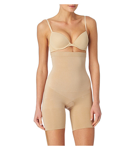 SPANX Slim Cognito midthigh body (Nude