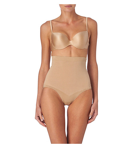 SPANX Slim Cognito high-waisted briefs (Nude