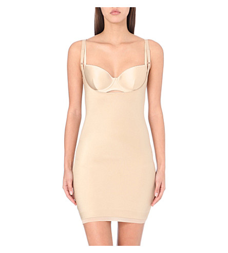 SPANX Slimplicity open-bust slip (Nude
