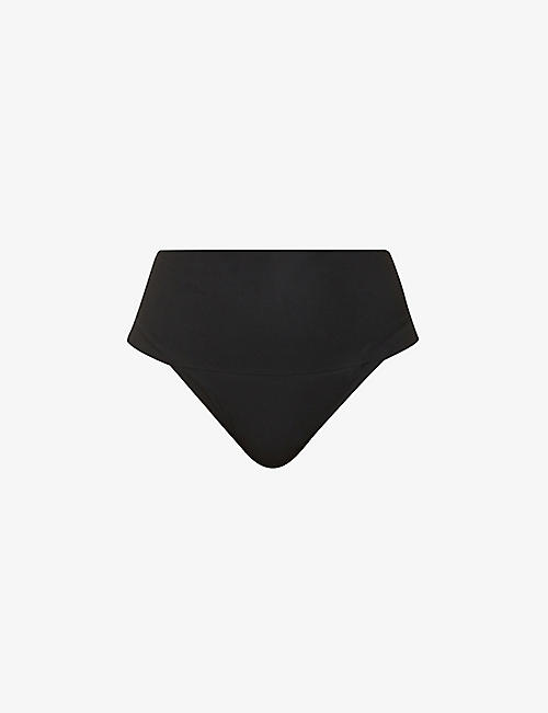 5c02fbb4c2 SPANX Undie-tectable high-rise jersey thong