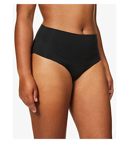 SPANX Undie-tectable jersey briefs (Black