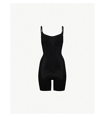 SPANX Super Duper jersey shapesuit (Black