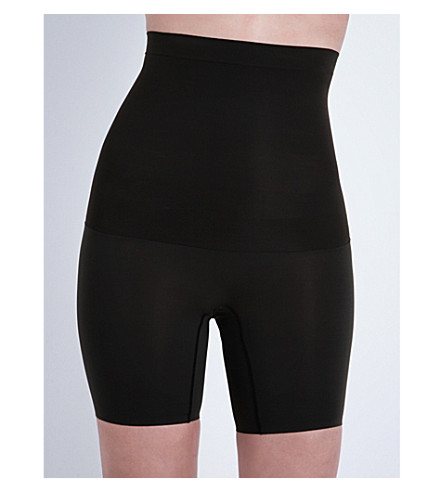 SPANX Shape My Day high-waisted shorts (Black