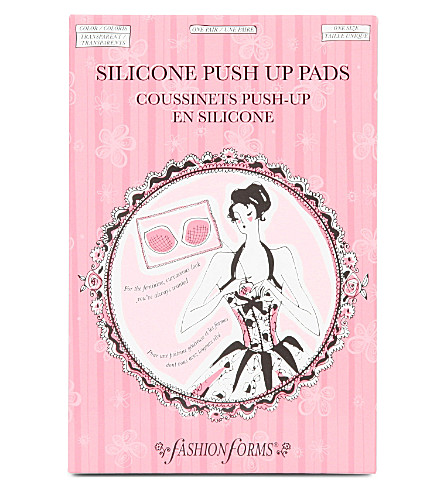FASHION FORMS Silicone push–up pads (Sheer