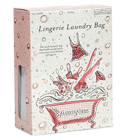 FASHION FORMS Lingerie laundry bag (White