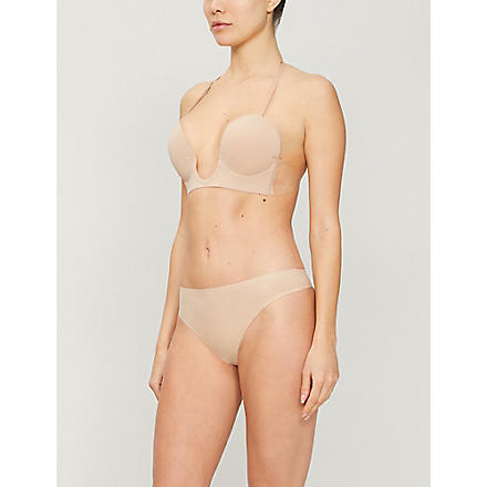 FASHION FORMS Backless plunge bra (Nude