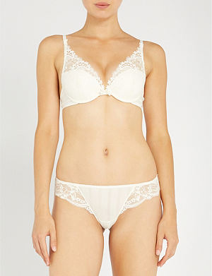 SIMONE PERELE Wish triangle push-up bra