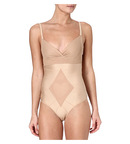 DMONDAINE Ginger thong bodysuit (Nude
