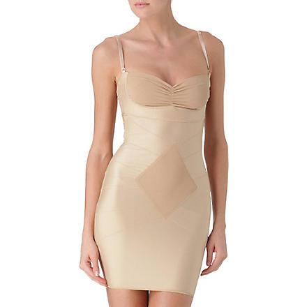 DMONDAINE Grace strapless full slip (Nude
