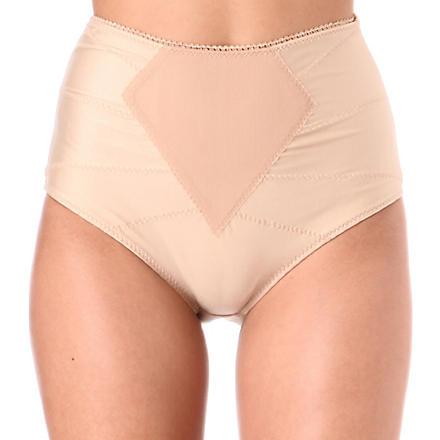 DMONDAINE Lana high-waisted shaping briefs (Nude