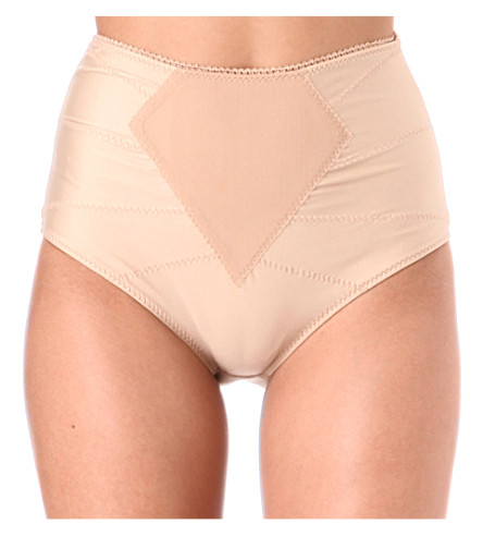 DMONDAINE Lana high-waisted shaping briefs (Nude