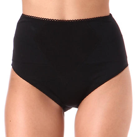 DMONDAINE Lana high-waisted shaping briefs (Black