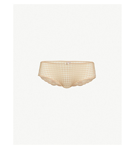 PANACHE Envy stretch-lace briefs (Nude