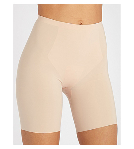 SPANX Thinstincts mid-thigh shorts (Soft+nude