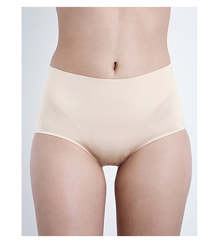 SPANX Retro stretch-jersey shorts (Soft+nude
