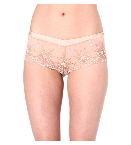CHANTELLE Vendome lace briefs (Nude