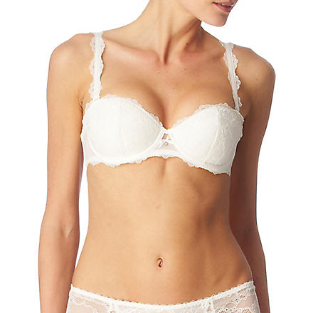 CHANTELLE Eternelle strapless padded bra (Milk