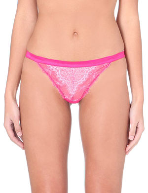 PASSIONATA Double play lace thong