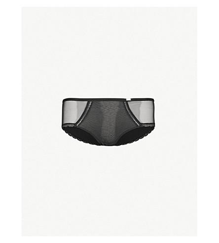 CHANTELLE 巴黎网短裤 (黑色