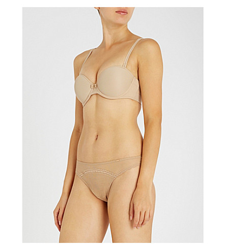 CHANTELLE Vous & Moi jersey strapless bra (Nude