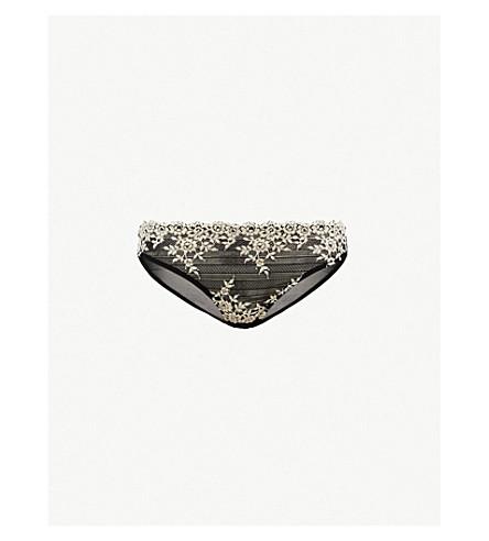 WACOAL Embrace Lace stretch-lace bikini briefs (Black