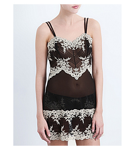 WACOAL   Embrace Lace stretch lace chemise