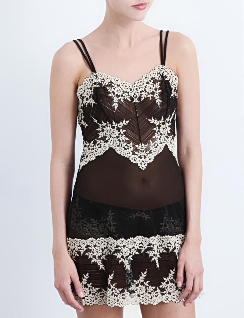 WACOAL   Embrace Lace stretch lace chemise