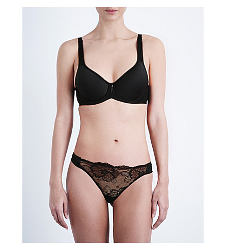 WACOAL Basic Beauty Contour plunge bra (Black
