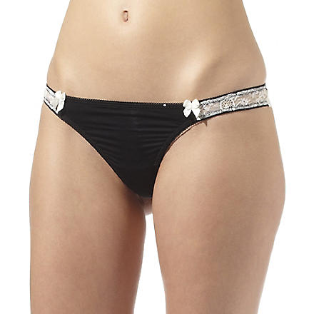 B. TEMPT'D Most desired thong (Black