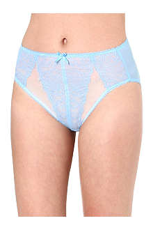 WACOAL Retro chic high-cut briefs