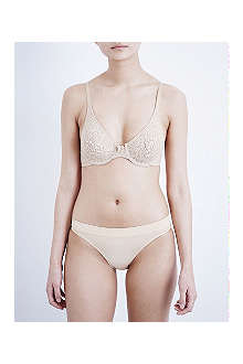 WACOAL Halo lace seamless underwired bra