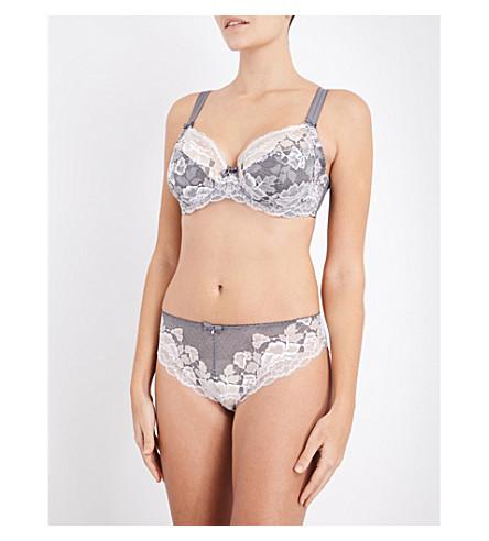 FANTASIE Marianna lace underwired plunge bra (Silver