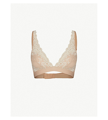 WACOAL Embrace Lace stretch-lace soft-cup bra (Nude