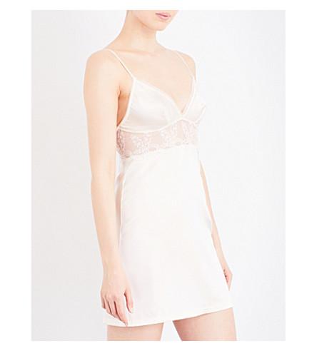 WACOAL Innocence stretch-silk chemise (Blonde