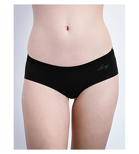 DKNY Fusion jersey hipster briefs (Black