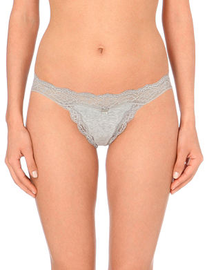 DKNY Downtown lace thong
