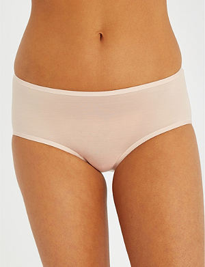 WOLFORD Sheer Touch jersey briefs