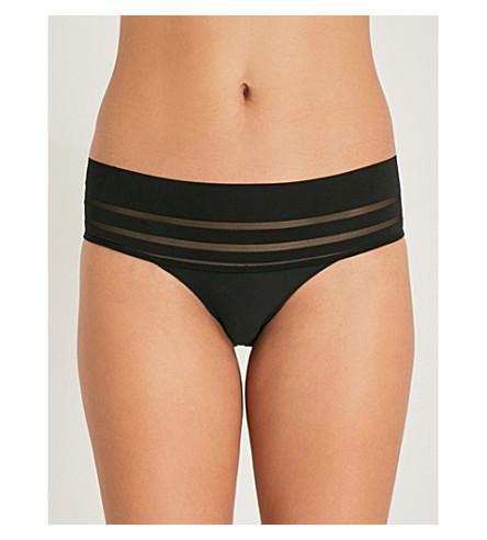 elástica HEIDI Braguitas nude color en sombreado bikini de de de KLUM malla ZUCq7