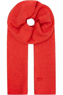 ARMANI COLLEZIONI Classic cashmere scarf