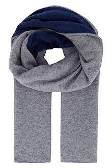 ARMANI COLLEZIONI Wool-blend scarf