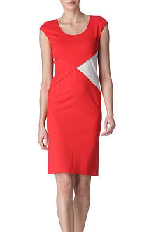 ARMANI COLLEZIONI Contrast panel dress