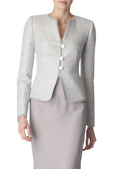 ARMANI COLLEZIONI Metallic tweed jacket