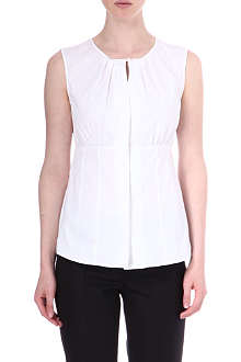 ARMANI COLLEZIONI Gathered-detail top