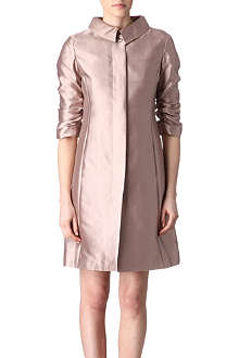 ARMANI COLLEZIONI Silk dress coat