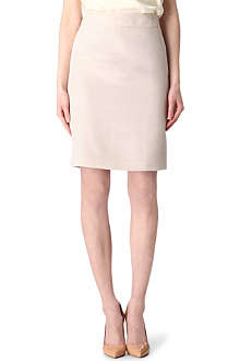 ARMANI COLLEZIONI Textured pencil skirt